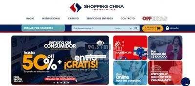 Tienda digital de Shopping China brinda descuentos y envíos gratis por la Semana del consumidor