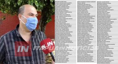 INTENDENTE AÚN NO FIRMA ACTA DE VALIDACIÓN PARA NUEVOS BENEFICIARIOS DE TEKOPORÁ