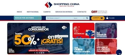 ¡Tienda digital de Shopping China brinda descuentos y envíos gratis por la Semana del consumidor!