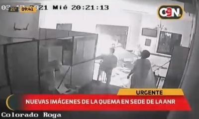Revelan video de la quema a la sede de Colorado Róga