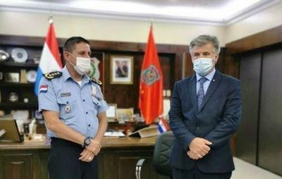 Tras disturbios, saqueos y ataque a la ANR relevan al comandante de la Policía •