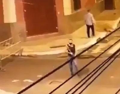 Identifican a agente que disparó contra manifestantes frente a la ANR