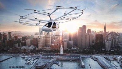Proyectan el uso de taxis voladores en los Juegos Olímpicos de París 2024
