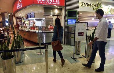 Patios de comidas de shoppings pueden abrir hasta la medianoche