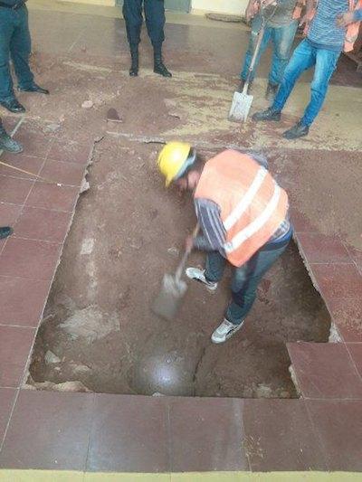 Crónica / Ñandejára les dijo que no: pillaron túnel en Tacumbú