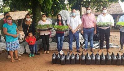 Entregan insumos a 150 familias de Guairá como parte del Proyecto Mi Huerta