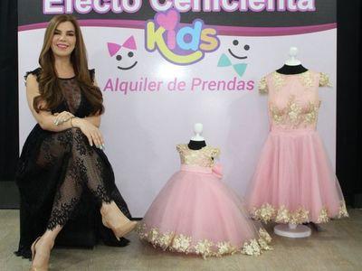 Alquiler de vestidos de ensueño, ahora también para bebés y niñas