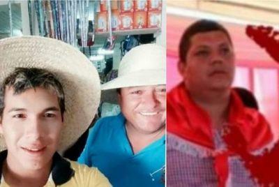 Hurreros del programa Tekoporâ recibieron con gritos y música al diputado Acosta en Pedro Juan Caballero