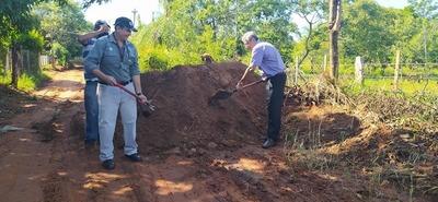 Villarrica: Inicia construcción de empedrado en Rincón 1