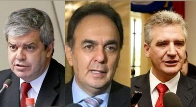 Tres senadores colorados internados por covid en sanatorios de la capital del país