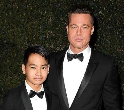 """Hijo de Brad Pitt quiere eliminar legalmente toda relación con su padre: """"Ya no usa su apellido"""""""