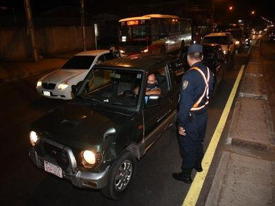 Policía refuerza controles en Asunción y Central