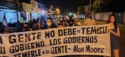 Pobladores repudian la corrupción y falta de transparencia en la gestión del intendente de San Roque González