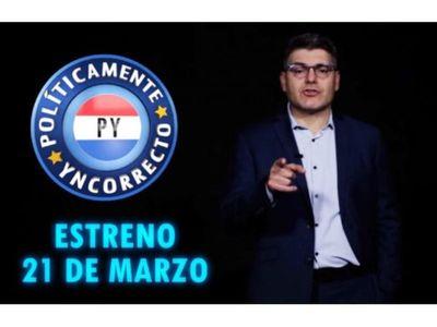 Políticamente Yncorrecto  llega mañana a Telefuturo