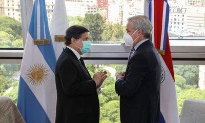 Misión diplomática en Buenos Aires sin nada concreto