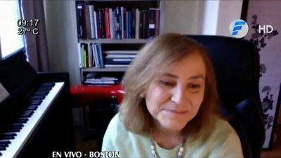 """Berta Rojas: """"Mario Abdo debe dar un golpe contra su propio Gobierno"""""""