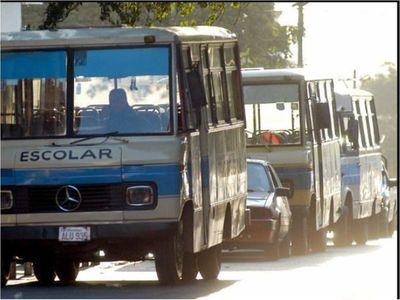 """Transportes escolares, """"salvatore"""" de reguladas"""