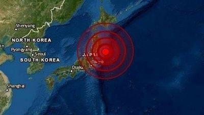 Japón levanta alerta de tsunami tras fuerte sismo de 7,2 en las costas del noroeste