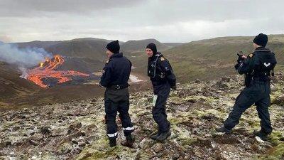 Erupción volcánica en Islandia después 6.000 años