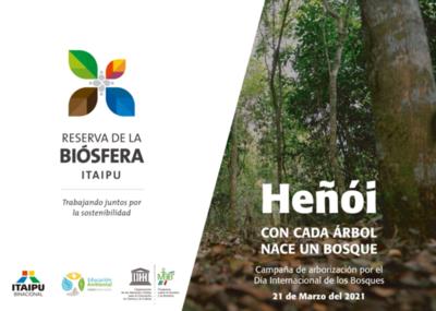 Itaipu y municipios impulsan campaña para arborizar áreas de la biósfera