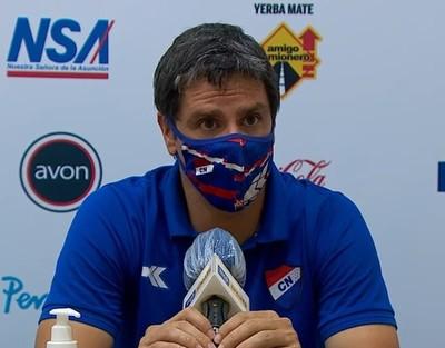 Rodrigo López considera que Nacional perdió dos puntos