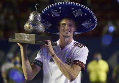 Zverev se convierte en el primer campeón alemán del Abierto Mexicano