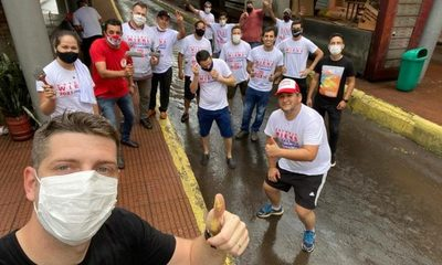 Wiens junto con su equipo político hermosean terminal urbana en CDE