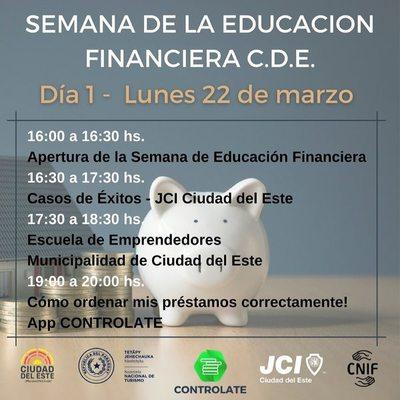 Municipalidad invita a clases virtuales de educación financiera