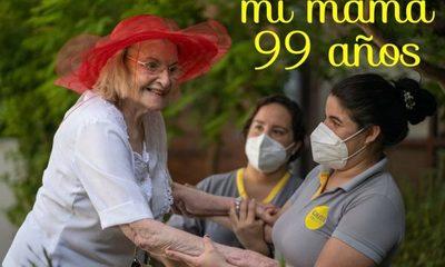 Madre de ex jueza superó el covid-19 con 99 años