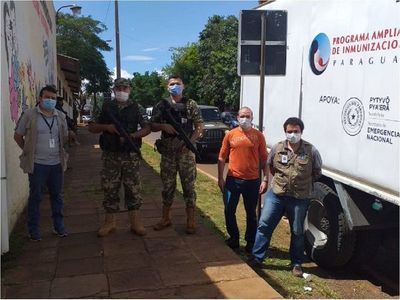 Alto Paraná recibió 2.500 vacunas contra el coronavirus