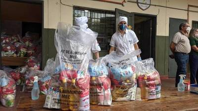 Con nueva viceministra en el MEC, se inicia hoy entrega de kits alimenticios – Prensa 5