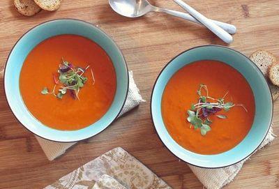 Esta receta de sopa de zanahoria es ideal para tu vista y piel