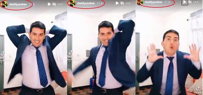 Crónica / (VIDEO) Daddy Yankee compartió el video de periodista bailando