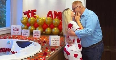 Gobernador y su joven novia responden a los preocupados por su relación