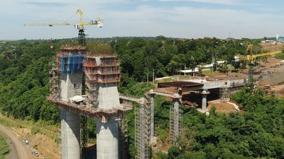 Puente de la Integración: Inician corrimiento del segundo tablero en el lado paraguayo