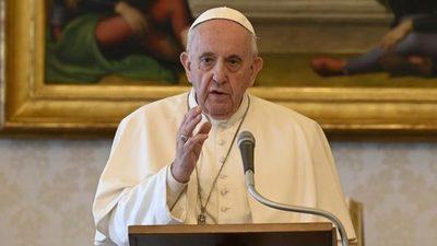 El Papa denunció que las mafias están explotando la pandemia y enriqueciendo con la corrupción