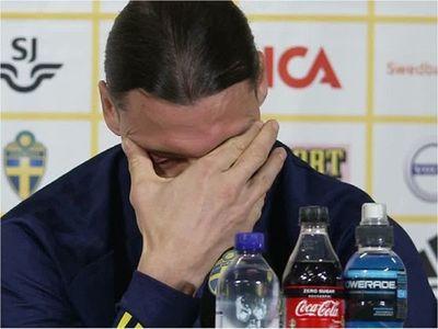 Ibrahimovic también llora