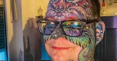 Bombero gasta más de 30.000 dólares en tatuajes porque le ayudan a controlar el dolor