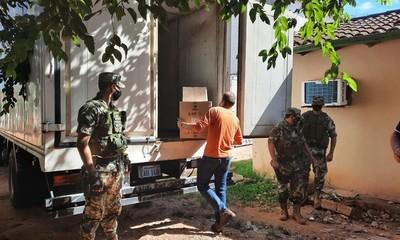 Llegan 1.400 dosis del AstraZeneca para el departamento Caaguazú
