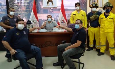 Municipalidad entrega aporte a Bomberos Voluntarios