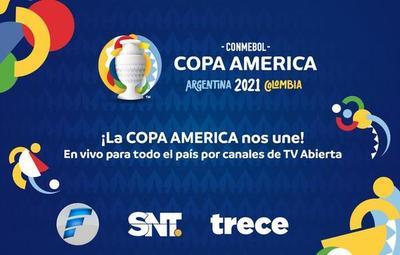 Copa América: Viví la gran fiesta del fútbol por las pantallas del Trece