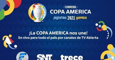 Copa América: TV abierta te trae los duelos de la Albirroja
