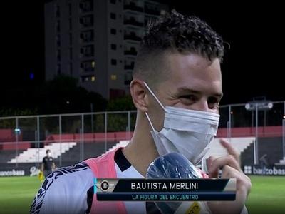 Merlini: la figura del partido y una perlita de Báez al paso