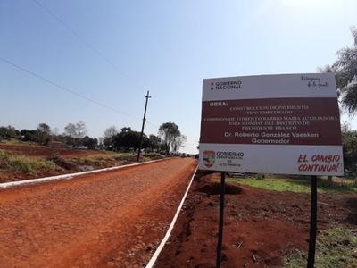 Recorte a presupuesto de la Gobernación de Alto Paraná afectará ejecución de obras
