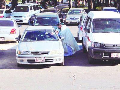 Asunción prepara auto-misa para el Domingo de Ramos