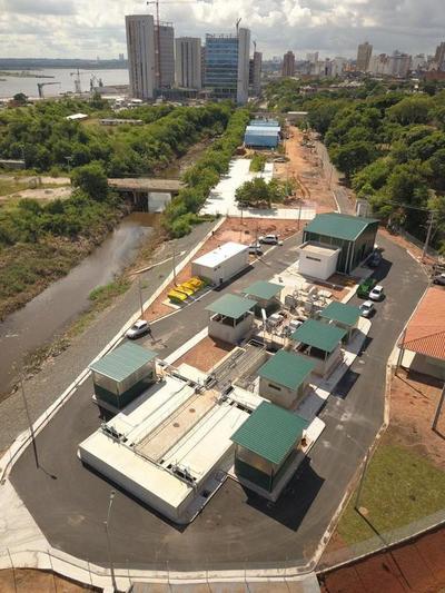 Inauguran primera planta de tratamiento de aguas residuales de Asunción