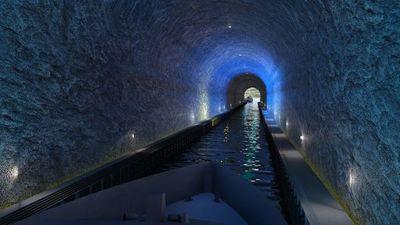 El primer túnel de barcos del mundo se construirá en Noruega