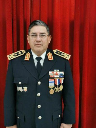 Víctor Balbuena designado como subcomandante interino de la Policía