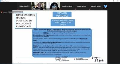 Caaguazú: Ministra expuso sobre la situación de adolescentes no acompañados que retornaron al país