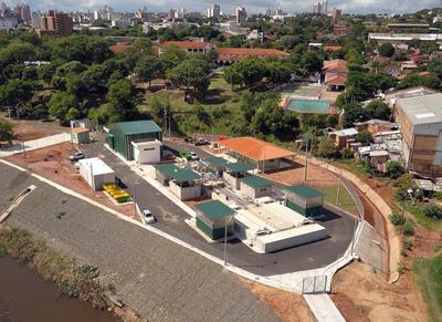 Se inaugura la primera planta de tratamiento de aguas residuales de Asunción